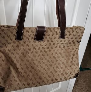 Dooney & Burke Canvas Tote